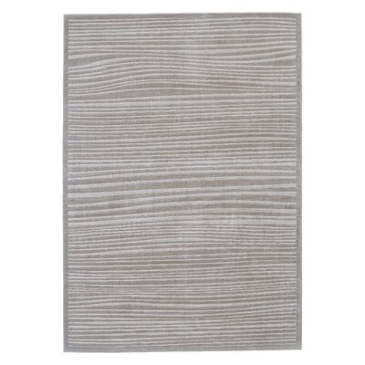Journee Taupe Area Rug Rug Size: 5 x 8