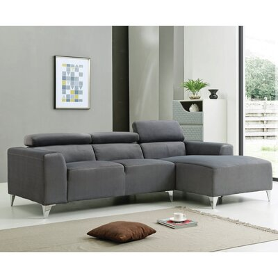 Talus Sectional Upholstery: Gray