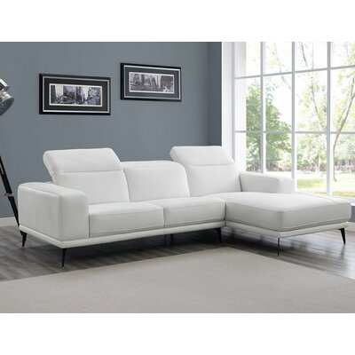 Herrick Leather Sectional