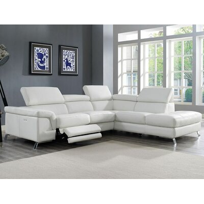 Wade Logan WLGN1123 Westall Reclining Sectional