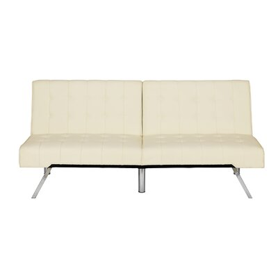 Littrell Convertible Sofa Upholstery: Vanilla