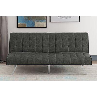 Littrell Convertible Sofa Upholstery: Gray