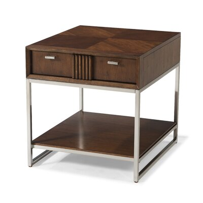 Perla Rectangular End Table