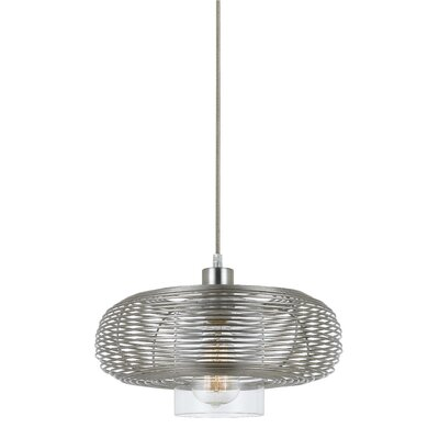 Akeeta 1-Light Drum Pendant