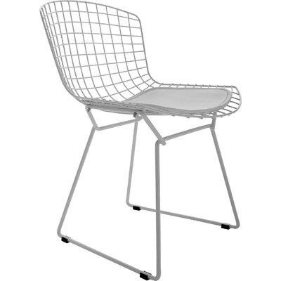 Roanoke Side Chair Finish: White