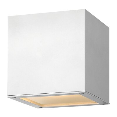 Kynlee 1-Light Flush Mount Finish: Bronze, Bulb Type: Incandescent