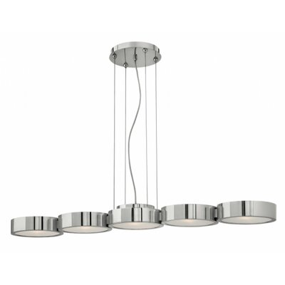 Courtnay 5-Light Kitchen Island Pendant