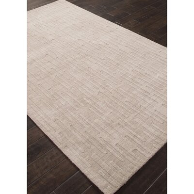 Bryant Hand-Loomed Gray Area Rug