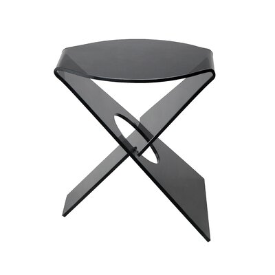 Hirschman End Table Color: Gray