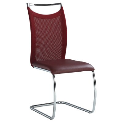 Jessy Side Chair (Set of 2) Finish: Red
