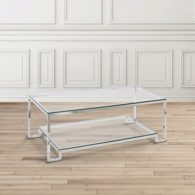 Blair Coffee Table Size: 23.6 H x 47.3 W x 15.7 D