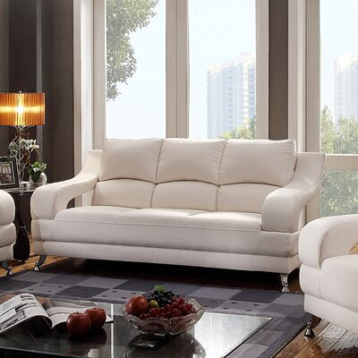 Palice Sofa Upholstery: White