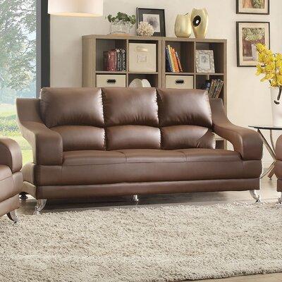 Terence Sofa Upholstery: Brown