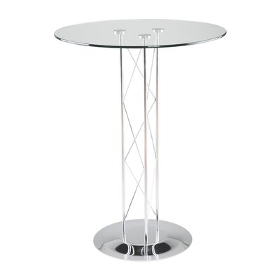 Berlanga Dining Table with Glass Top