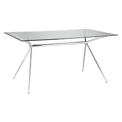 Berndt Dining Table in Chrome