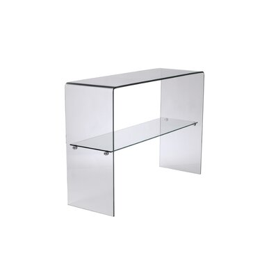 Babyletto Glass Console Table in Clear
