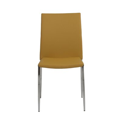 Parlex Dining Chair Upholstery Color: Saffron