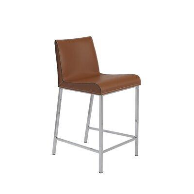 Dorothy 24 inch Bar Stool Upholstery: Cognac