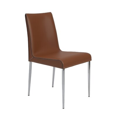 Dorothy Side Chair Upholstery: Cognac