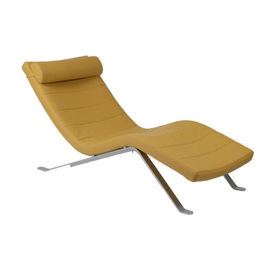 Sutton Leatherette Chaise Lounge