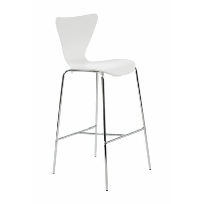 Joyce 30 Bar Stool Finish: White