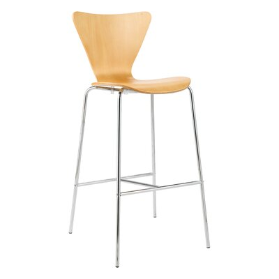 Joyce 30 Bar Stool Finish: Natural