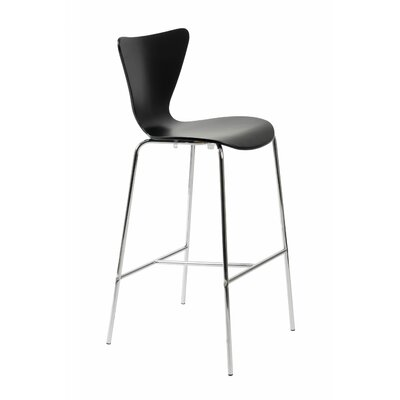 Joyce 30 Bar Stool Finish: Black