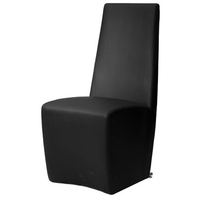 Lesly Parsons Chair (Set of 2) Chair Upholstery: Black