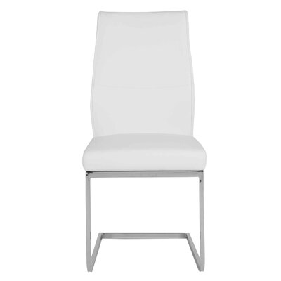 Ivory Parsons Chair (Set of 2) Upholstery: White