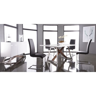Arche Gloss Top Dining Table