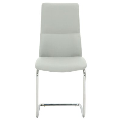 Arche Side Chair (Set of 2) Upholstery: Cinder Grey