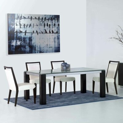 Arche 5 Piece Rectangular Dining Set