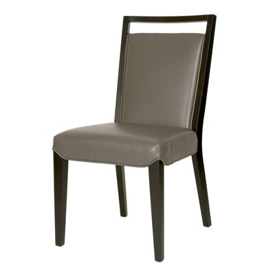 Arche Upholstered Parsons Chair (Set of 2) Chair Upholstery: Pebble