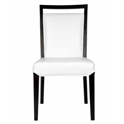 Arche Upholstered Side Chair (Set of 2) Chair Upholstery: White