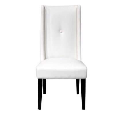 Lesly Parsons Chair (Set of 2) Chair Upholstery: Tech White