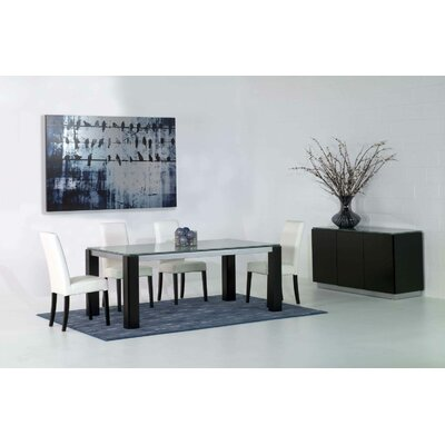 Arche Contemporary Dining Table Base