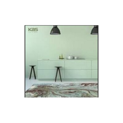 Kaia Multi-Colored Watercolors Area Rug Rug Size: 53 x 77