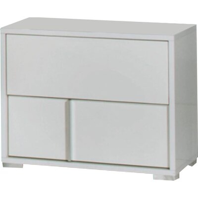 Dority 2 Drawer Right Nightstand