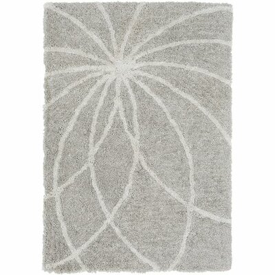 Annie Hand-Tufted Taupe/Ivory Area Rug Rug Size: Rectangle 5 x 76