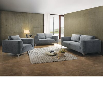Brubaker 3 Piece Living Room Set