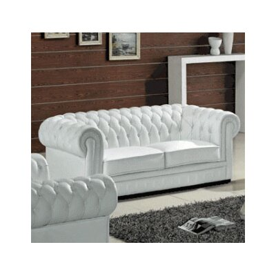 Botkin Leather Chesterfield Sofa
