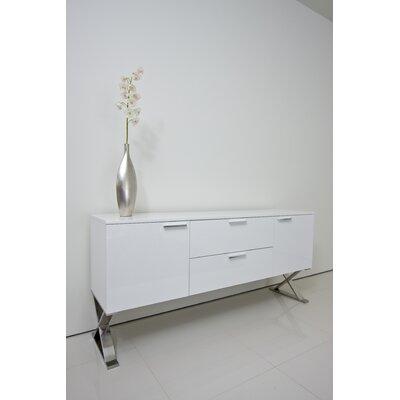 Roreti Buffet Color: White