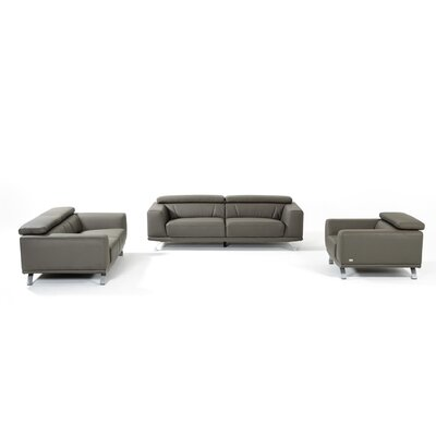 Penny 3 Piece Living Room Set