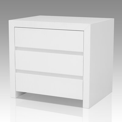 Clower 2 Drawer Nightstand