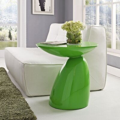 Jeffrey End Table Finish: Green