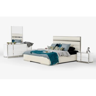 Queen Platform 5 Piece Bedroom Set Size: King