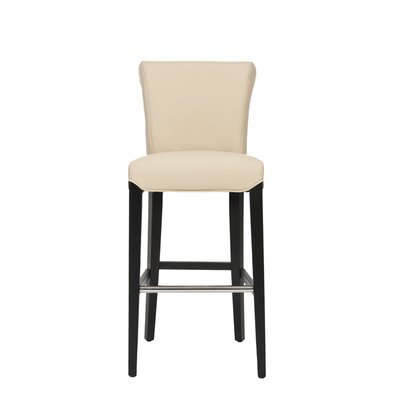 Jami 30 Bar Stool Upholstery: Cream