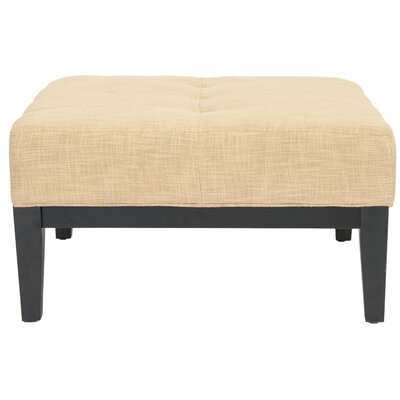 Venice Cocktail Ottoman Upholstery: Gold