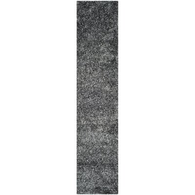Anna Charcoal Area Rug Rug Size: Runner 23 x 11