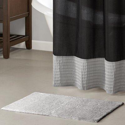 Devin Cotton Tufted Bath Rug Color: Gray